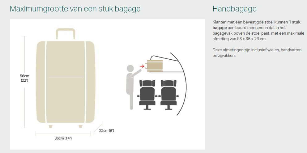 handbagage cathay