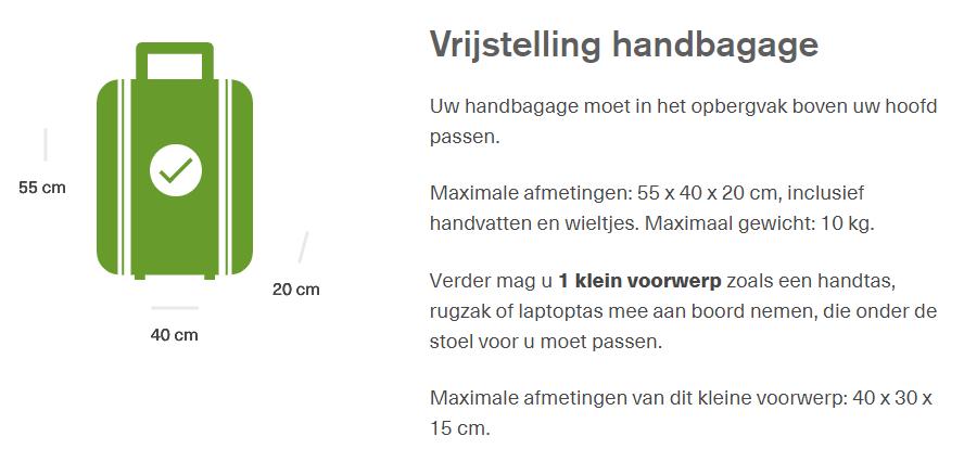 icelandair handbagage regels